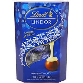 Lindt Lindor Milk&White 200g