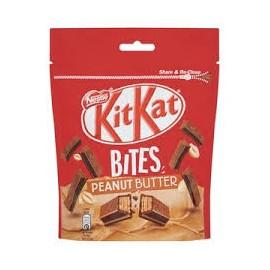Kit Kat Bites Mogyoróvajas 104g
