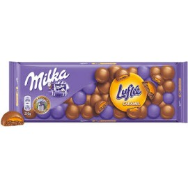 Milka Luflee Caramel Chocolate  250g