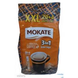Mokate instant kávé 3in1 XXL Barnacukor 24db