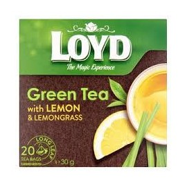 Loyd Piramis Tea Green Lemon 20*1,5g