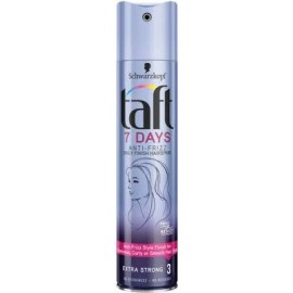 Taft hajlakk 7Days Anti-Frizz Extra erős 250ml