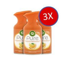 AirWick Pure aeroszol Mediterrán nyár (narancs) 250ml