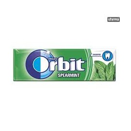 "ORBIT SPEARMINT DRAZSÉ 14G /zöld ""R"""