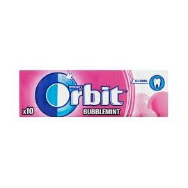 """Orbit Bubblemint Drazsé 14g /30/ """"R"""""""