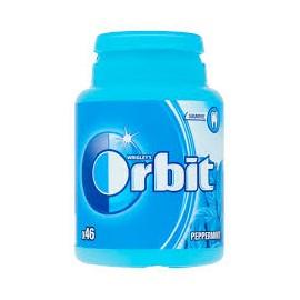 "ORBIT Peppermint Bottle 46 drazsé ""R"""