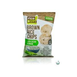 Rice Up Rizs Chips Hagymás-Tejfölös 60g /24/