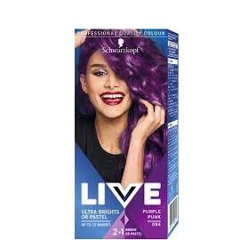 Schwarzkopf Live Color hajszínező 94 Lila