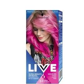 Schwarzkopf Live Color hajszínező 93 Rózsaszín