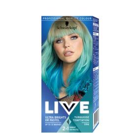 Schwarzkopf Live Color hajszínező 96 Türkiz