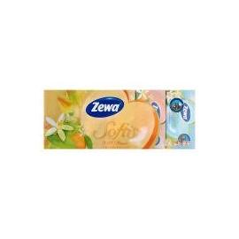 Zewa Softis 4 rétegű papír zsebkendő Soft&Sensitive 10x9db