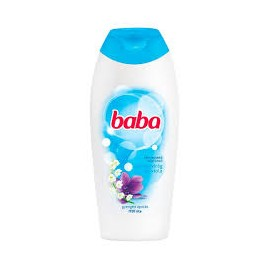 Baba Tusfürdő gyöngyvirág és viola 400ml