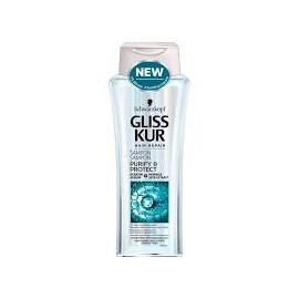 Gliss Kur sampon 250ml Purify&Protect városi levegőtől szennyezett hajra