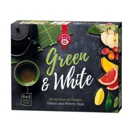 TEEKANNE - Green&White Tea Válogatás