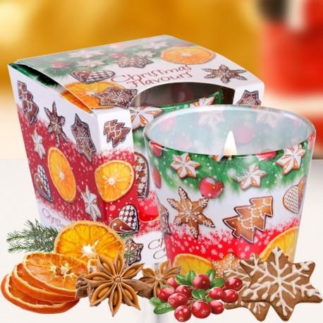 Bartek poharas gyertya 115g - Christmas Flavours