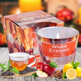 Bartek poharas gyertya 115g - Warm Evening