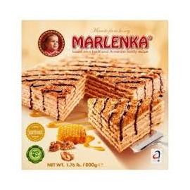 Marlenka mézes torta diós 800g