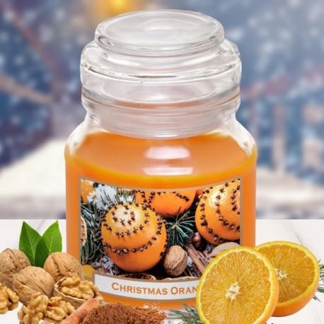 Bartek gyertya 130g Christmas-Orange