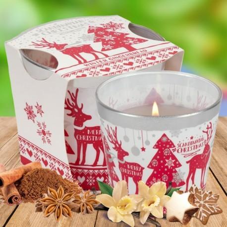 Bartek poharas gyertya 115g -Scandinavian Christmas
