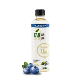 TAO GREEN TEA - BLUEBERRY 0.5L