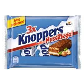 KNOPPERS - NUT BAR 3x40g