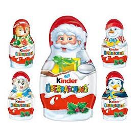 Kinder Karácsonyi Figura Meglepetéssel 36g