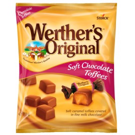 Werther's Original Chocolate Toffees 70 g