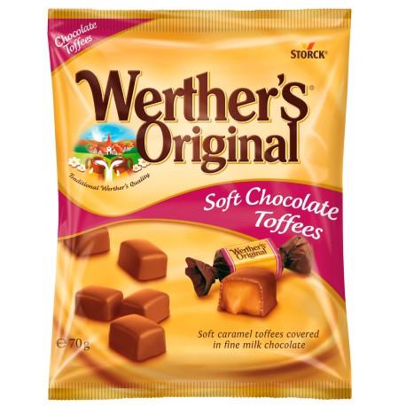 Werther's Original Chocolate Toffees 70 g