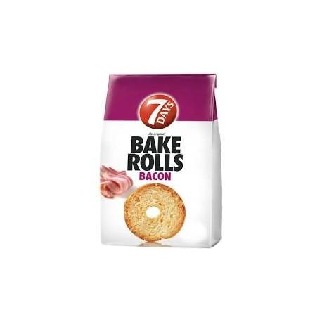 7 Days Bake Rolls Bacon 80g
