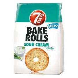 7 Days Bake Rolls Hagymás-Tejfölös 80g