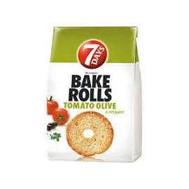 7 Days Bake Rolls Paradicsom 80g