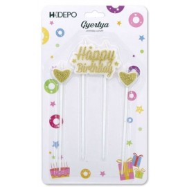 HHDEPO-HAPPY BIRTHDAY GYERTYA