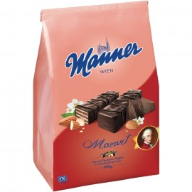 Manner Mozart Almond-Hazelnut Crème Filled Wafers 300 g