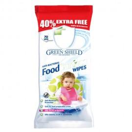 Green Shield antibakteriális nedves tisztítókendő 50db