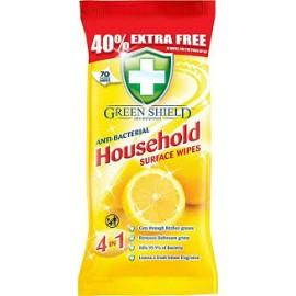 Green Shield 4 az 1-ben nedves tisztítókendő