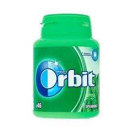 "ORBIT Spearmint Bottle 46 Drazsé ""R"""
