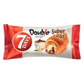 7 Days Croissant Super Double Max Kakaó-Vanília 110g