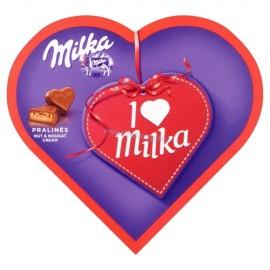 MILKA I Love szív desszert mogyorókrémes 44 g