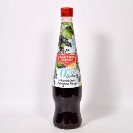 Mautner Markhof feketeribizli-citrom cukormentes szörp 700 ml