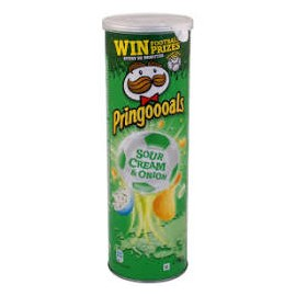Pringles tejfölös-hagymás 165g