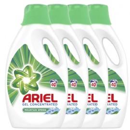Ariel folyékony mosószer Mountain Spring, 4x2.2L, 160 mosás