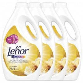 Lenor folyékony mosószer Gold Orchid Color, 4 x 2.2L/160 mosás
