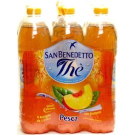 San Benedetto Ice Tea  6 x 1,5 l barack ízű