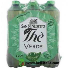 San Benedetto zöld tea ízű üdítőital 1,5 l cukorral és édesítőszerrel