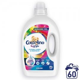COCCOLINO mosógél színes ruhákhoz 60 mosás, 2,4 l