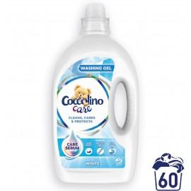 COCCOLINO mosószer fehér ruhákhoz, 2.4l, 60 mosás
