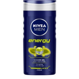 NIVEA MEN tusfürdő Energy 250ml