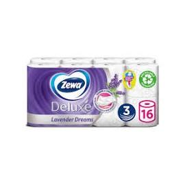 Zewa Deluxe 3 rétegű toalettpapír, Lavender Dreams, 16 tekercs