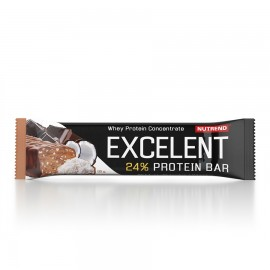 EXCELENT PROTEIN BAR, 85 G, CHOCOLATE+COCONUT