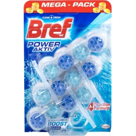 Bref Power Aktiv golyós WC illatosító 3db-os
